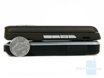 Top - E65, Bottom - 6120 - Nokia 6120 Classic compared to Nokia E65 - Nokia 6120 Classic Review