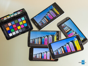 Screen comparison: G3 vs Xperia Z2 vs Galaxy S5 vs One (M8) vs iPhone 5s