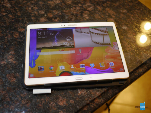 Logitech Type-S Keyboard Case for Samsung Galaxy Tab S 10.5 Review