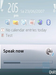 Voice control - Nokia 6120 Classic Review