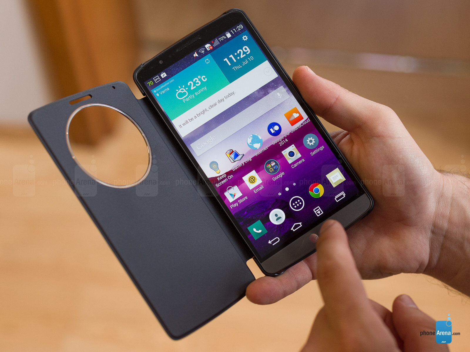 release date: 26b91 9b25c LG G3 Quick Circle case Review - PhoneArena