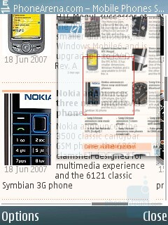 Page overview - Nokia 6120 Classic Review