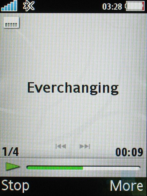Music player - Sony Ericsson S500 Preview