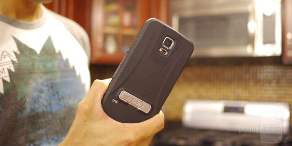 Seidio CAPSA TouchView case for Samsung Galaxy S5 Review