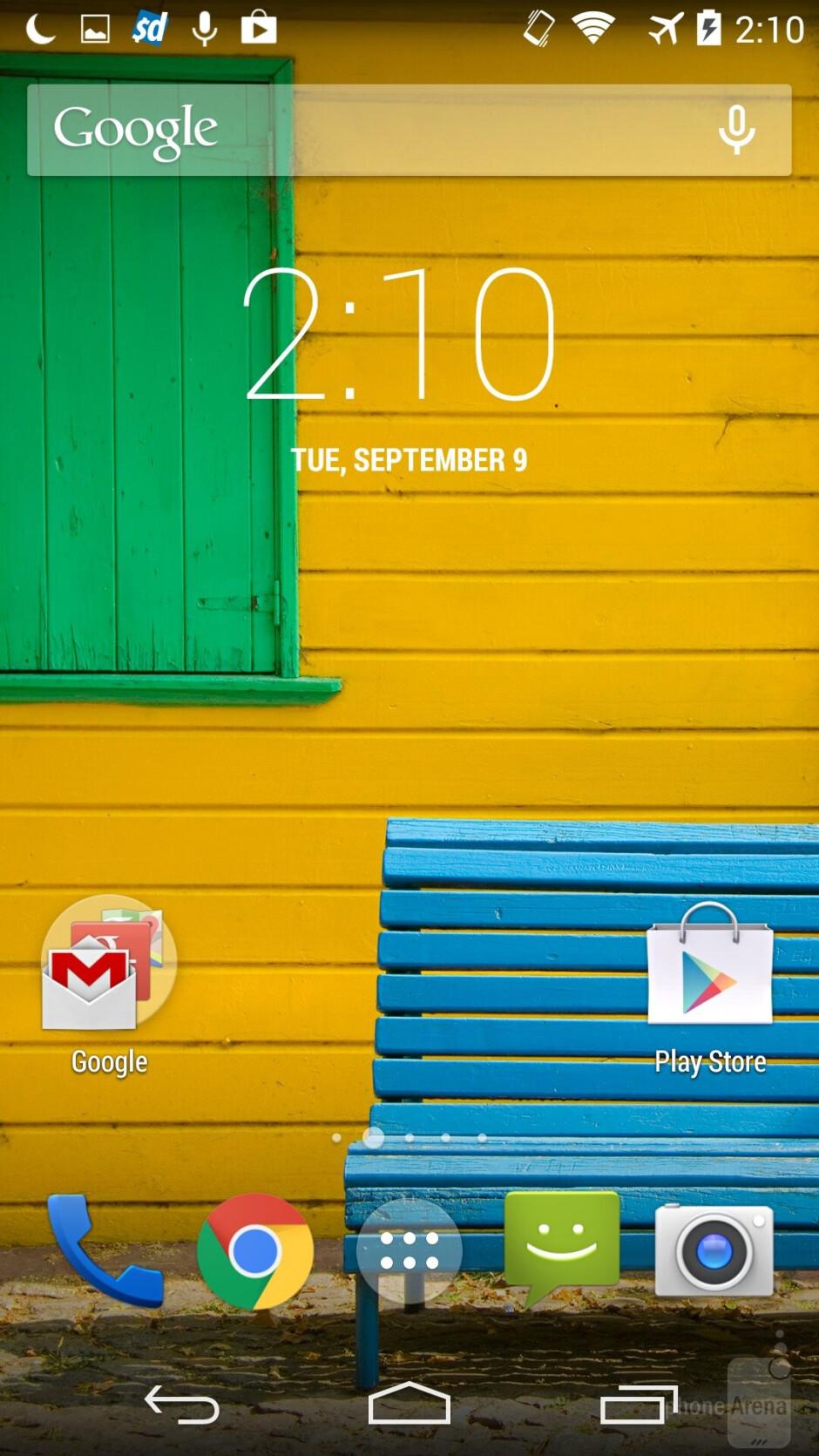 UI of the Motorola Moto X (2014) - Motorola Moto X 2014 vs Moto X 2013