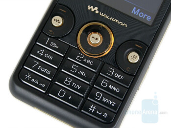 Keyboard - Sony Ericsson W660 Preview