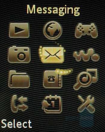 Main menu - Sony Ericsson W660 Preview