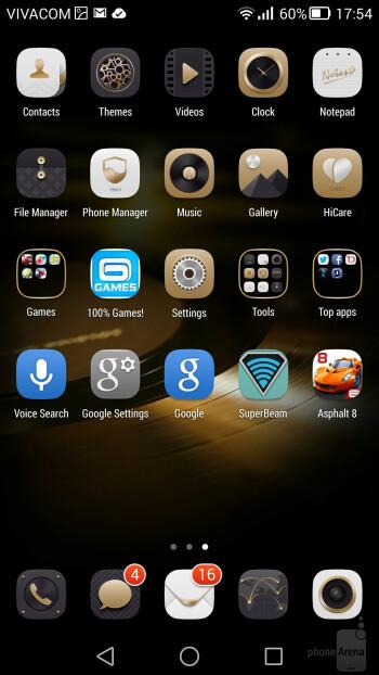 Huawei Ascend Mate7 UI - Samsung Galaxy Note 4 vs Huawei Ascend Mate7