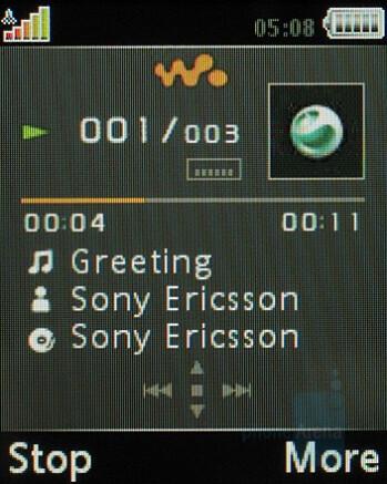 Walkman player - Sony Ericsson W660 Preview