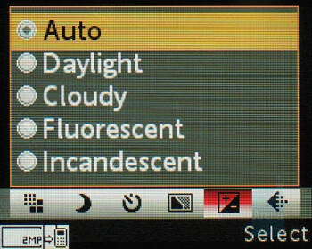 Camera interface - Sony Ericsson W660 Preview