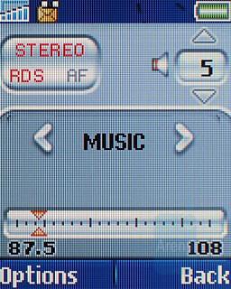 FM Radio - Sony Ericsson T250 Preview