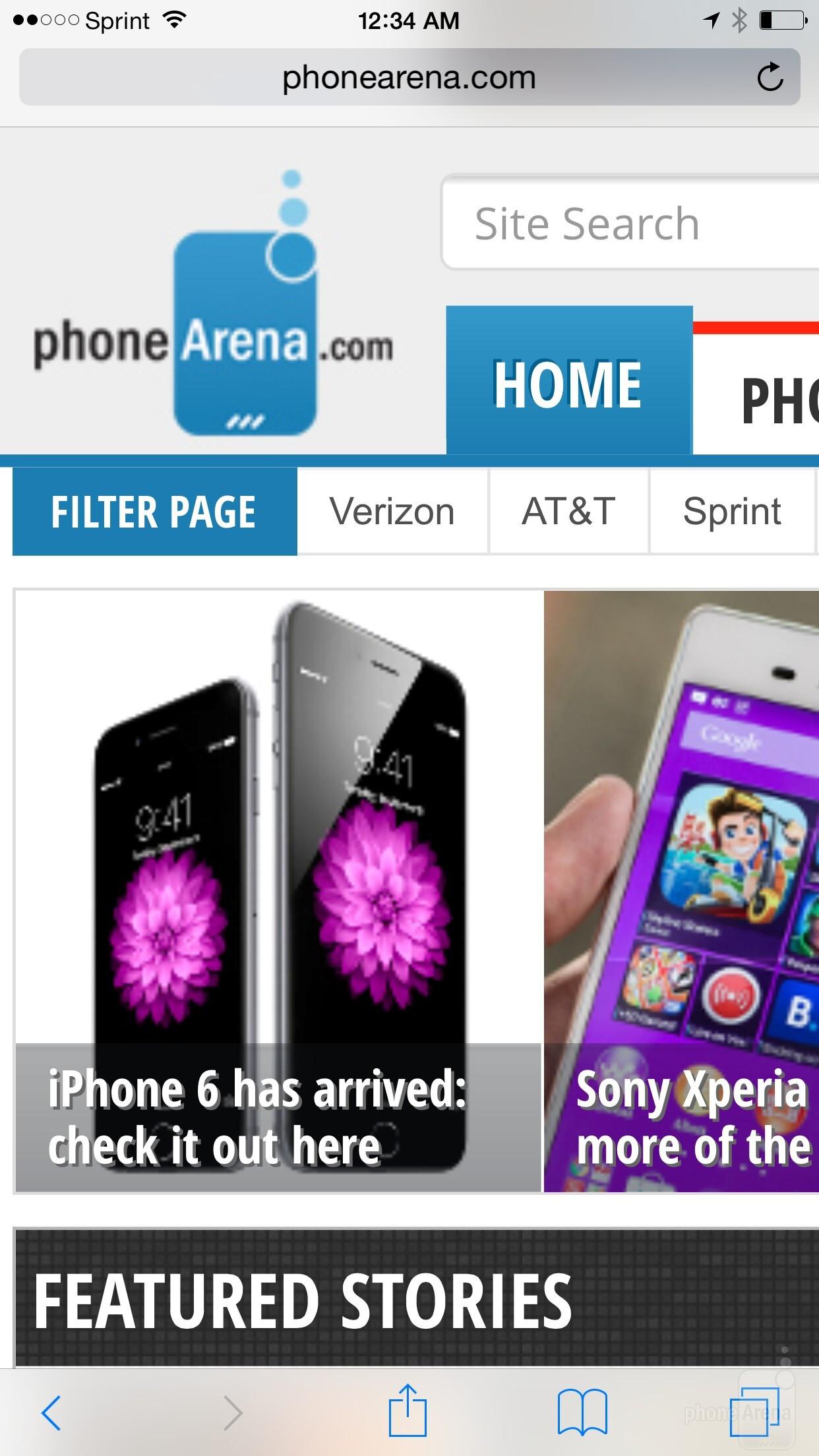 Apple IPhone 6 Vs Apple IPhone 6 Plus