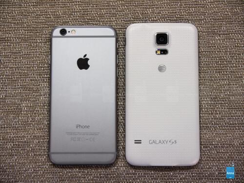 Apple iPhone 6 vs Samsung Galaxy S5