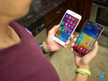 Apple iPhone 6 Plus vs Samsung Galaxy Note 3