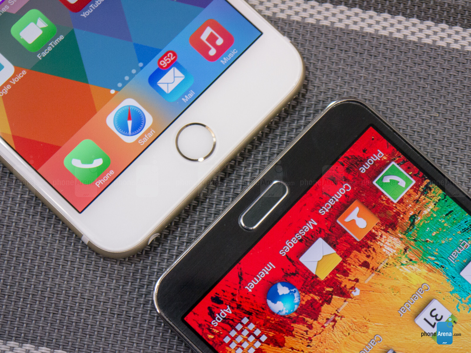 apple iphone 6 plus vs samsung galaxy note 3. Black Bedroom Furniture Sets. Home Design Ideas