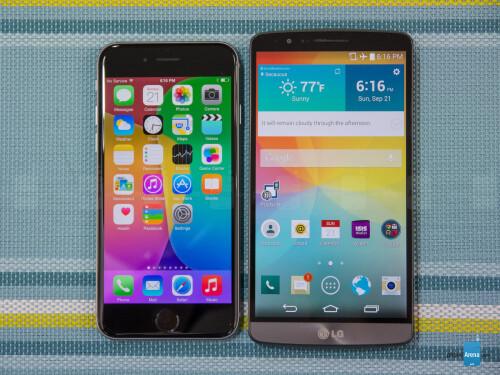 iPhone 6 vs G3