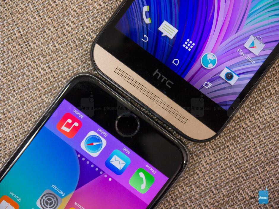 Apple iPhone 6 vs HTC One (M8)