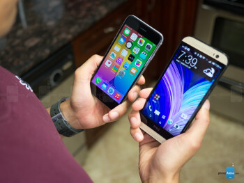 Apple iPhone 6 vs HTC One (M8)