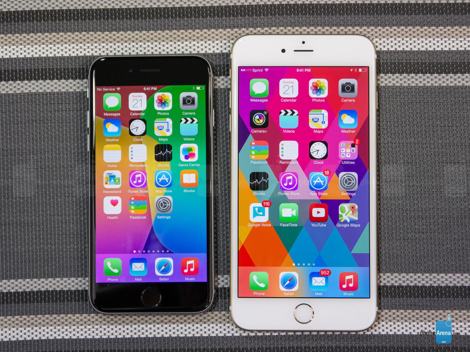 Apple iphone 6 vs 6 plus