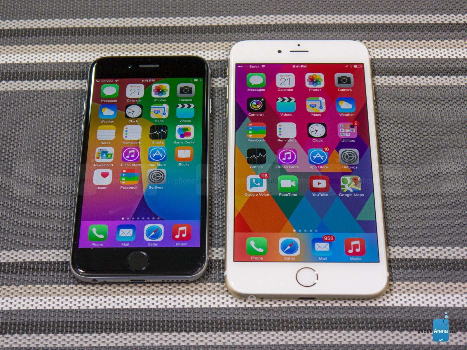 iphone 6 vs iphone 6 plus apple