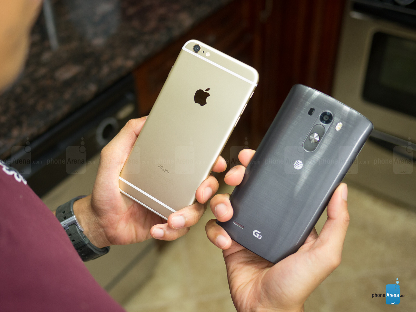 Photos For Apple IPhone 6 Plus Vs LG G3