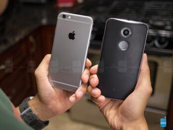 Apple iPhone 6 vs Motorola Moto X 2014