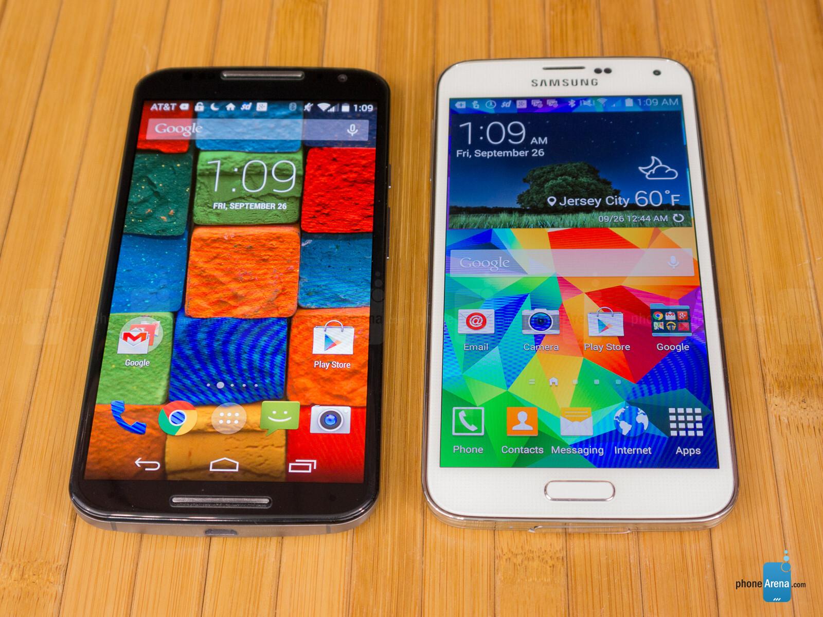 Motorola Moto X 2017 Vs Samsung Galaxy