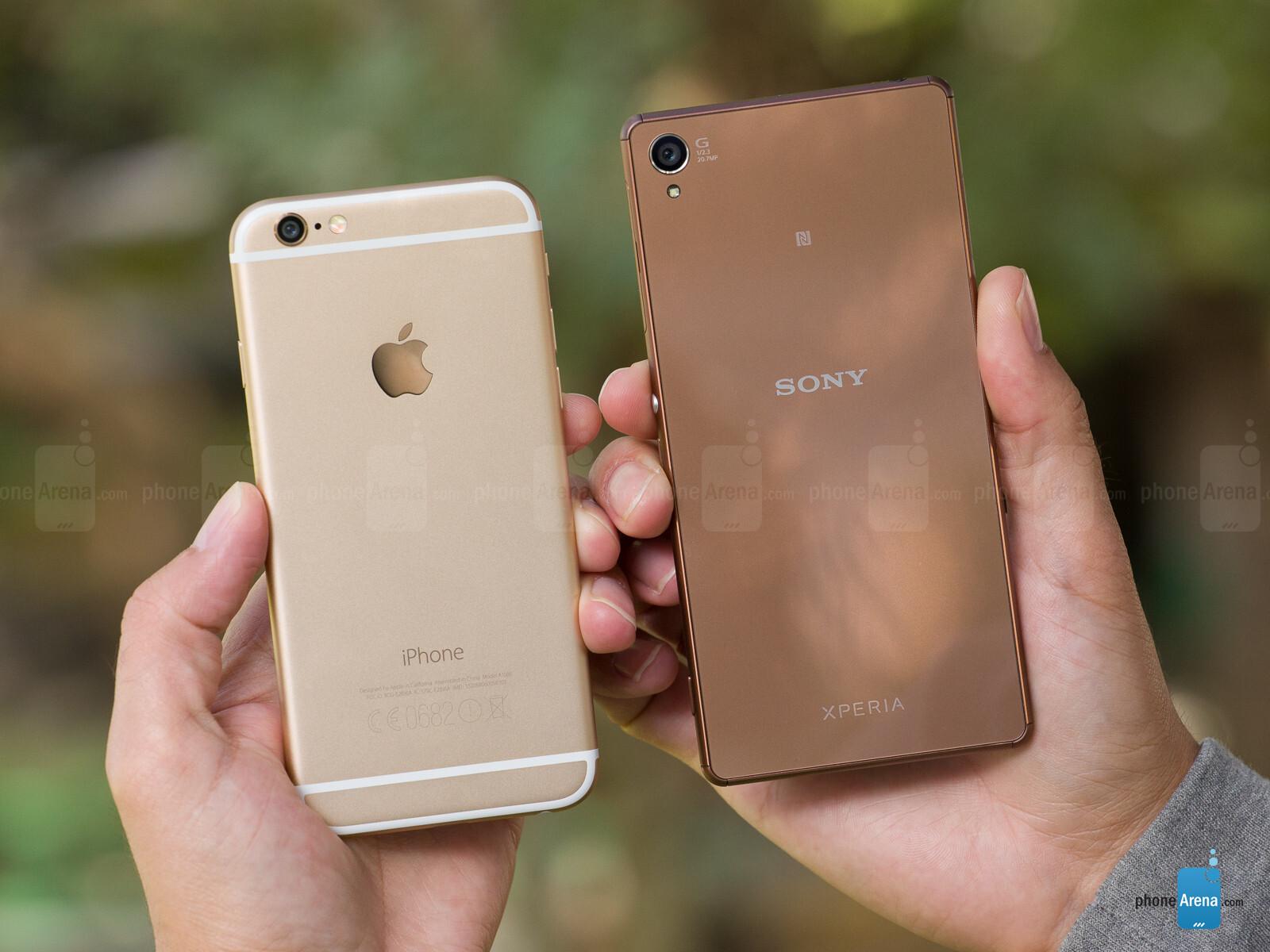 S8+ vs iphone 7 Plus vs xperia z3