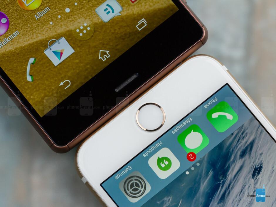 Apple iPhone 6 vs Sony Xperia Z3