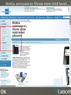 Page overview - Nokia E65 Review