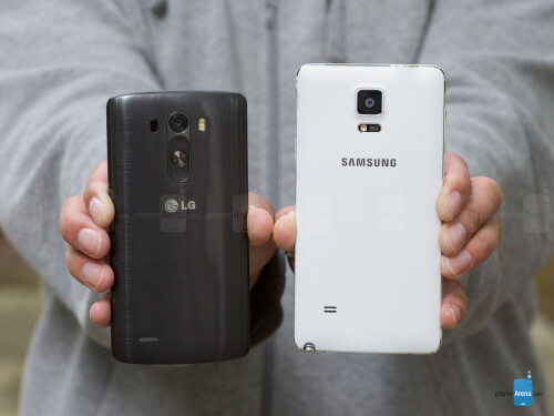 Samsung Galaxy Note 4 vs LG G3