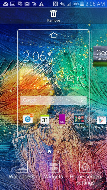 UI of the Samsung Galaxy Alpha - Samsung Galaxy Alpha vs Samsung Galaxy S5