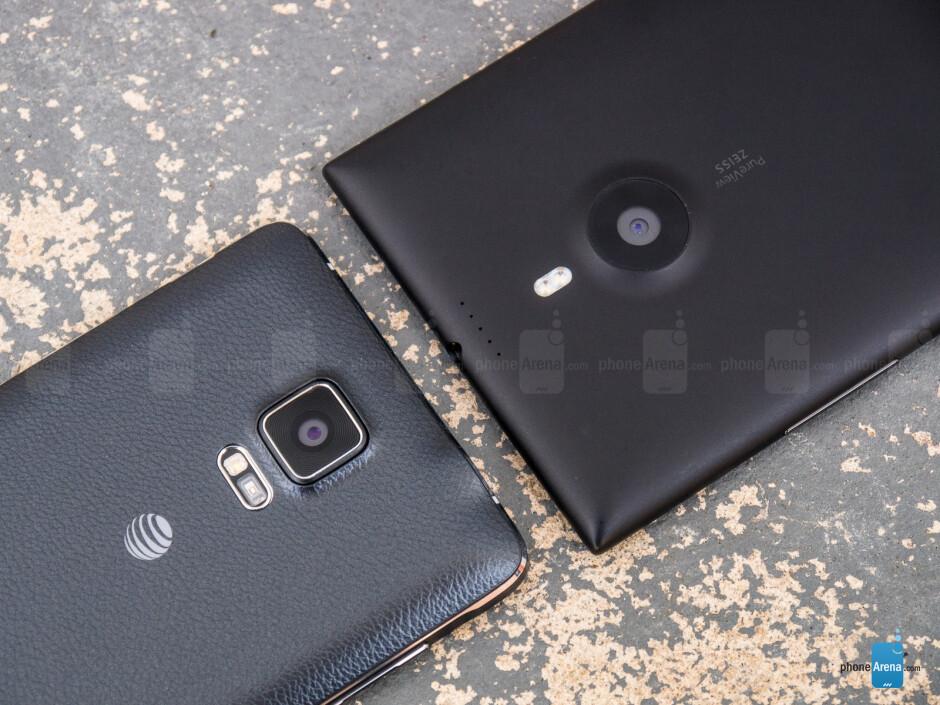 Samsung Galaxy Note 4 vs Nokia Lumia 1520