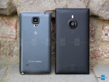 Samsung Galaxy Note 4 vs Nokia Lumia 1520