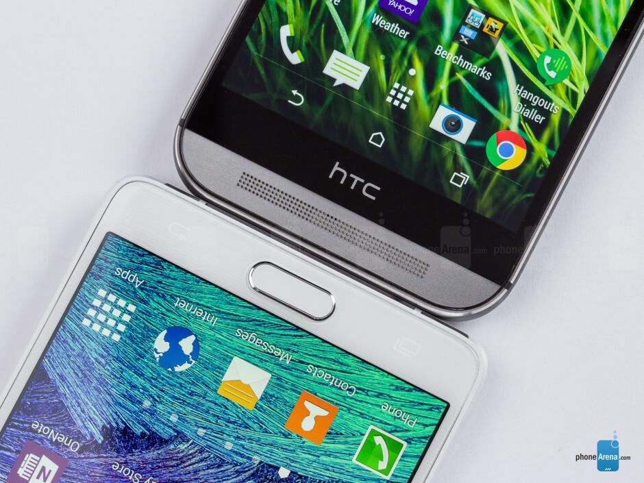 Samsung Galaxy Note 4 vs HTC One (M8)