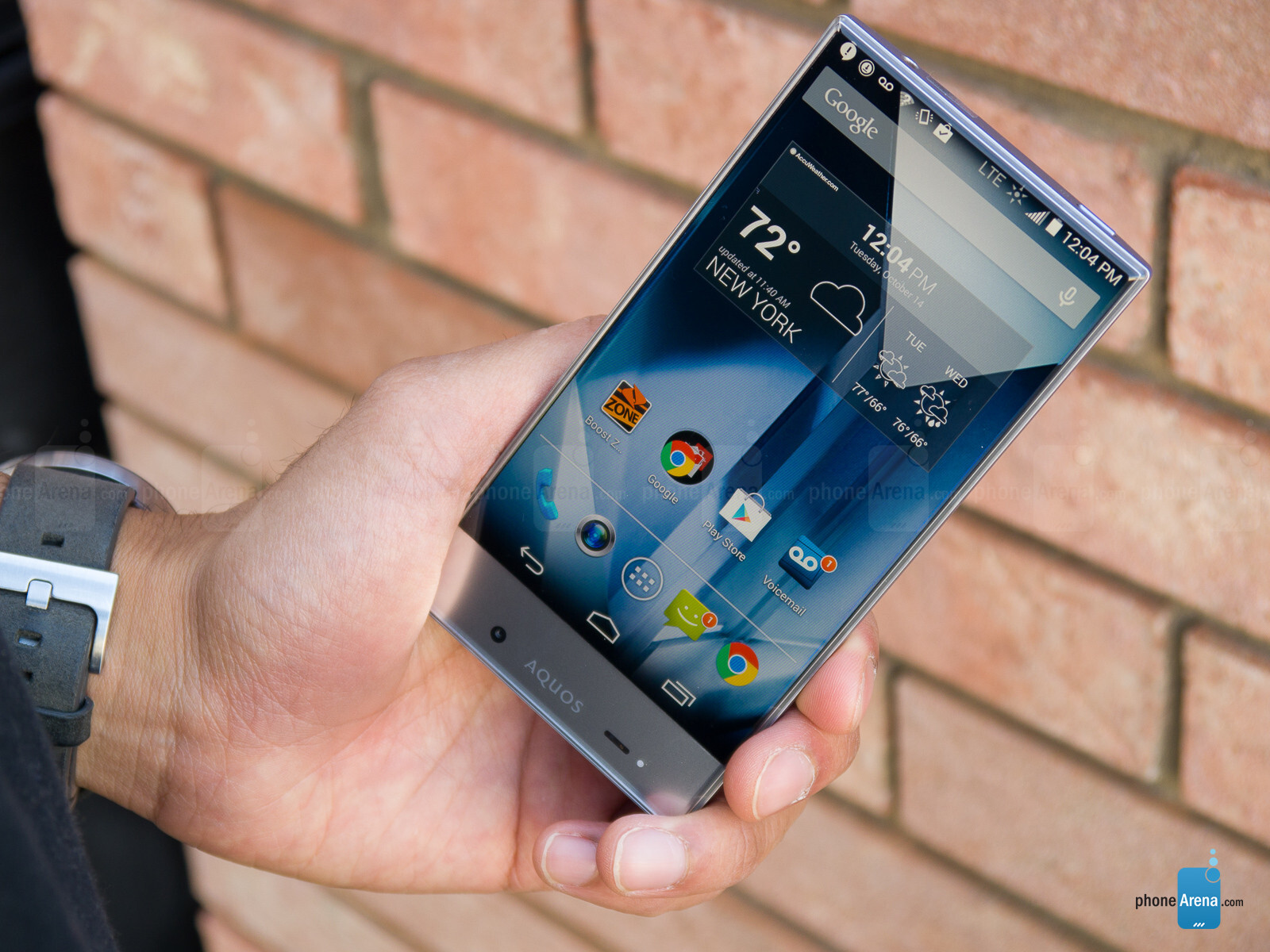 Sharp Aquos Crystal: Unboxing & Review - YouTube