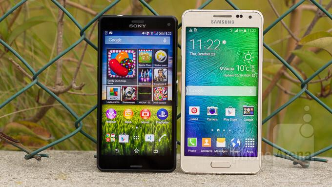 Samsung Galaxy Alpha vs Sony Xperia Z3 Compact