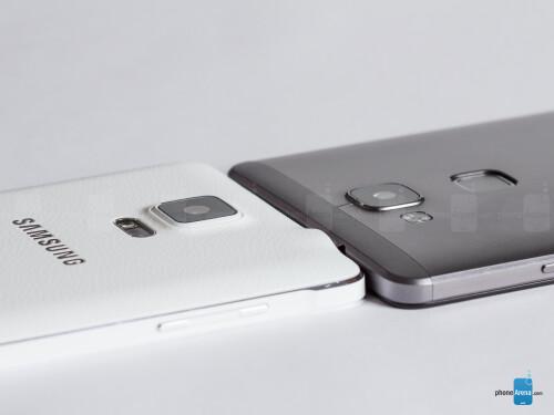 Samsung Galaxy Note 4 vs Huawei Ascend Mate7