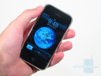 In hand - Apple iPhone Review