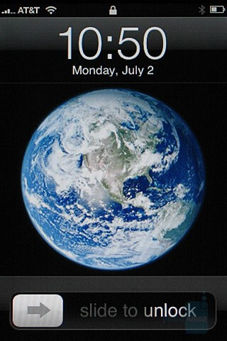 Home screen - Apple iPhone Review