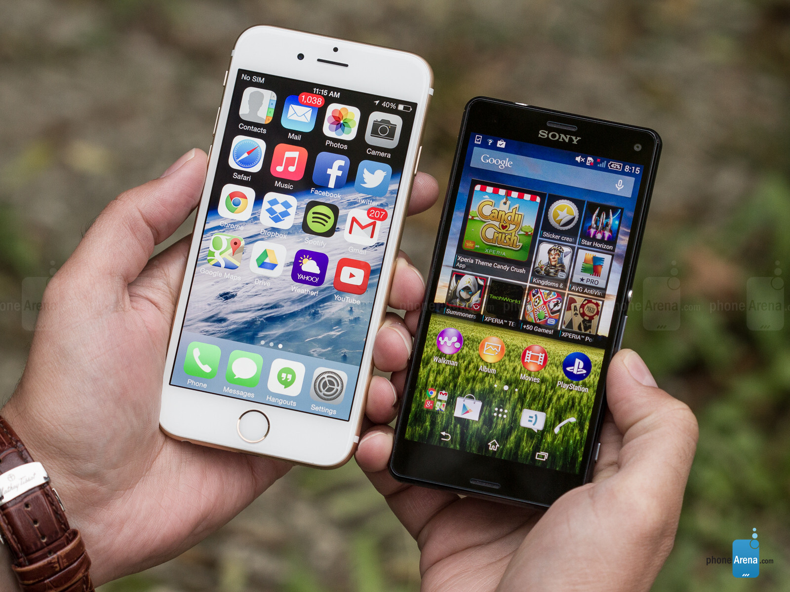 apple iphone 6 vs sony xperia z3 compact. Black Bedroom Furniture Sets. Home Design Ideas