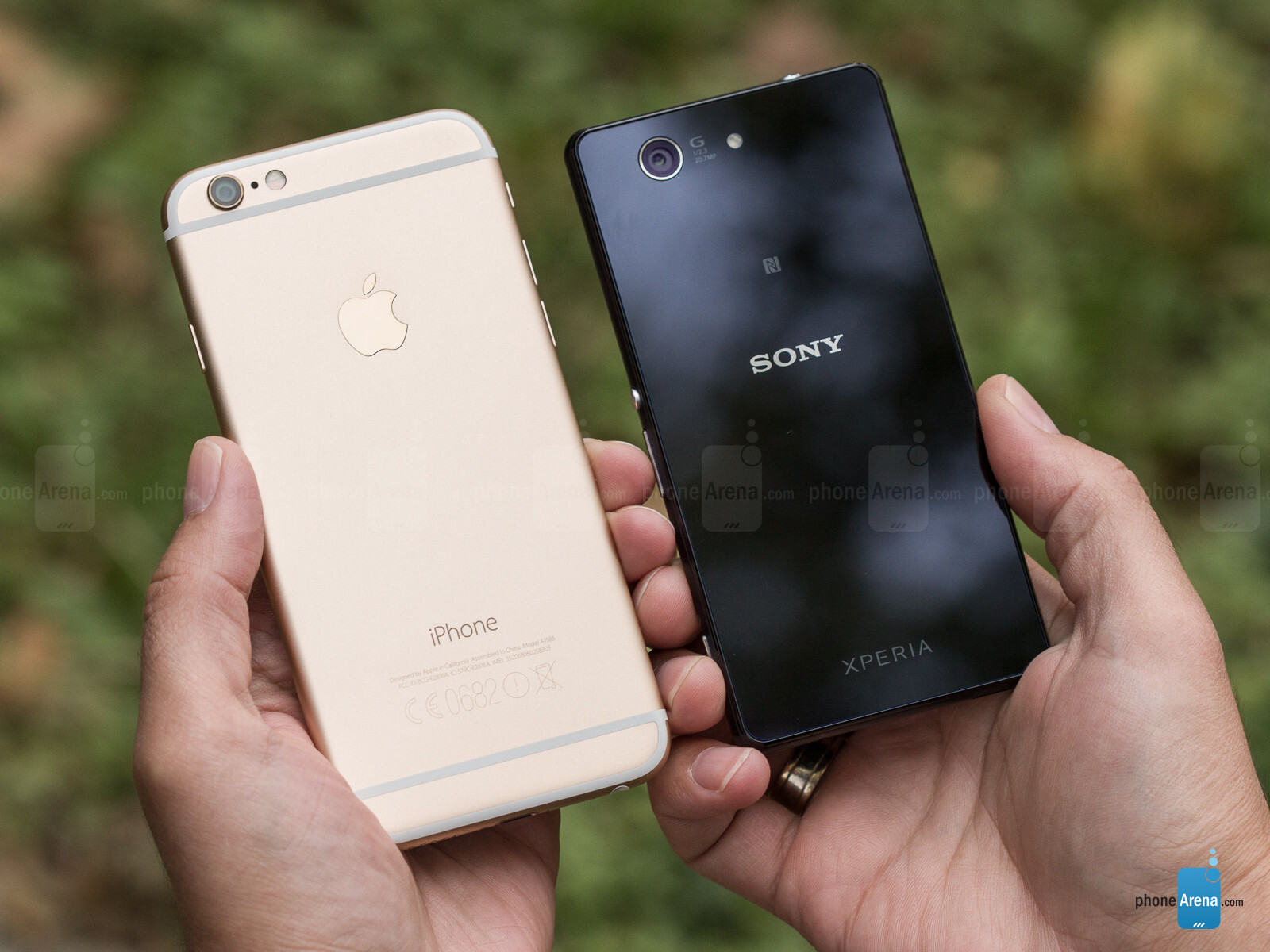 note vs iphone 8 vs xperia z3
