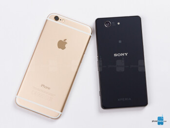 Apple iPhone 6 vs Sony Xperia Z3 Compact