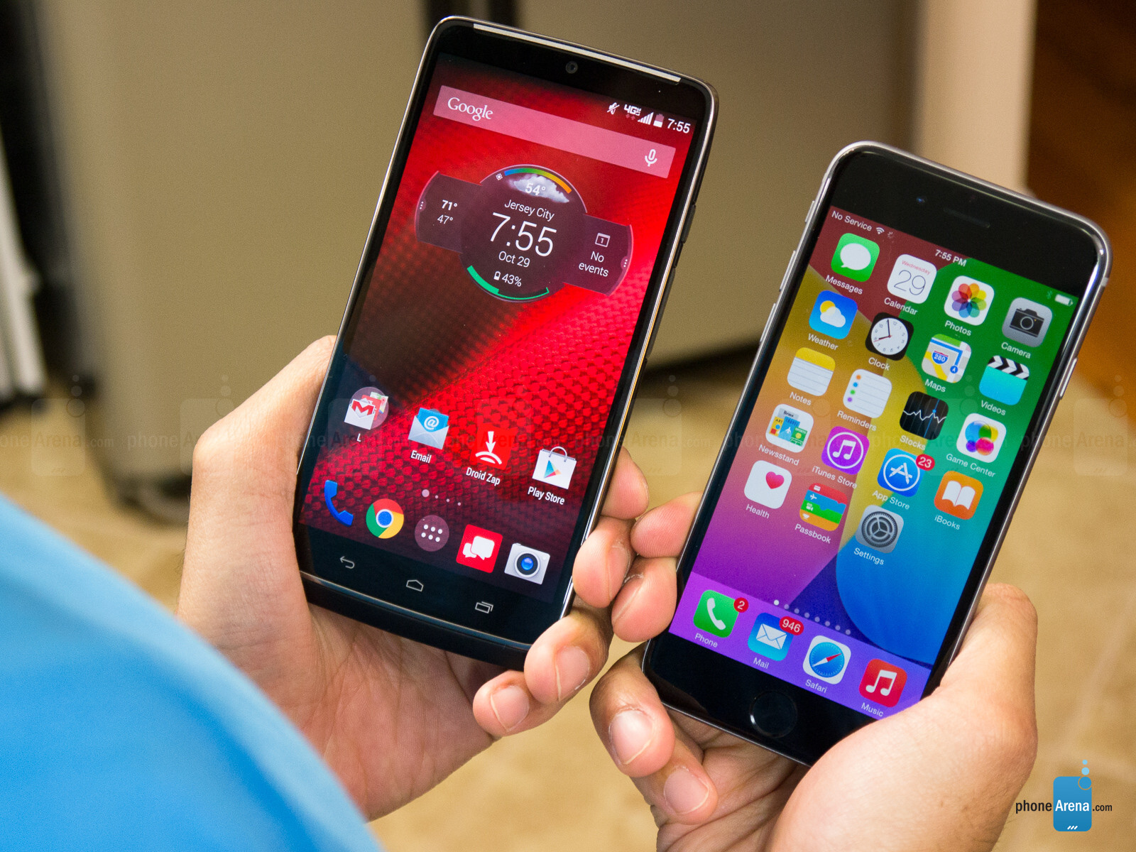 Motorola DROID Turbo vs Apple iPhone 6 - PhoneArena