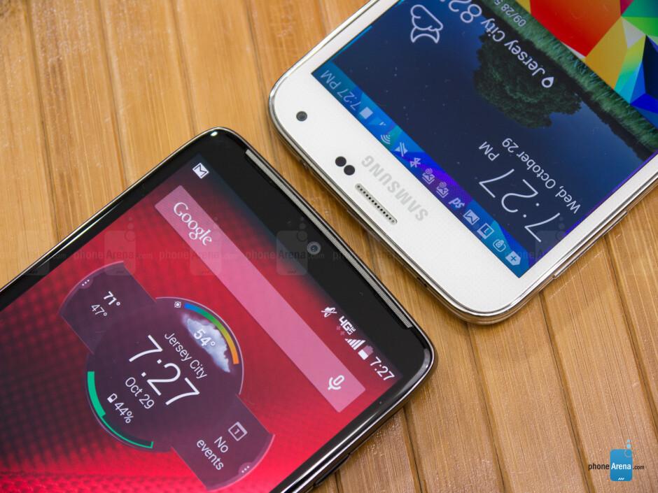 Motorola DROID Turbo vs Samsung Galaxy S5