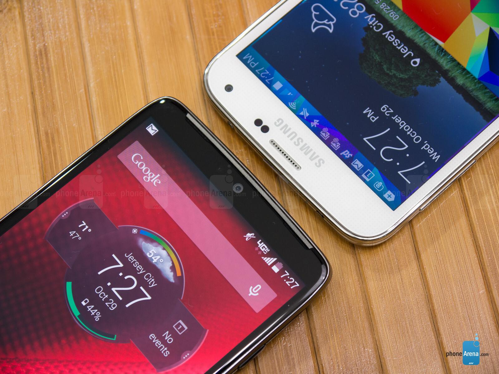 Motorola Droid Turbo Vs Samsung Galaxy S5 Phonearena