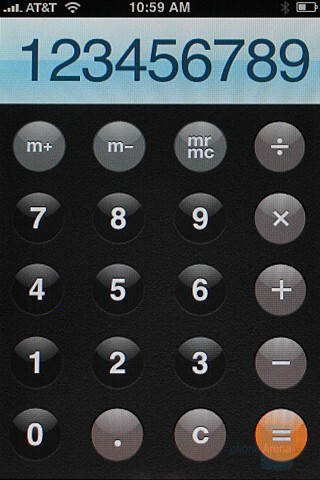 Calculator - Apple iPhone Review