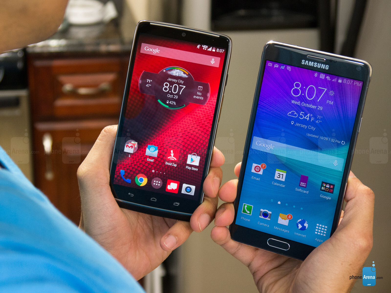 motorola droid turbo vs samsung galaxy note 4 04