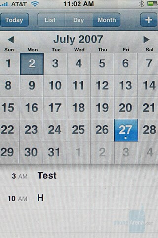 Month - Calendar - Apple iPhone Review