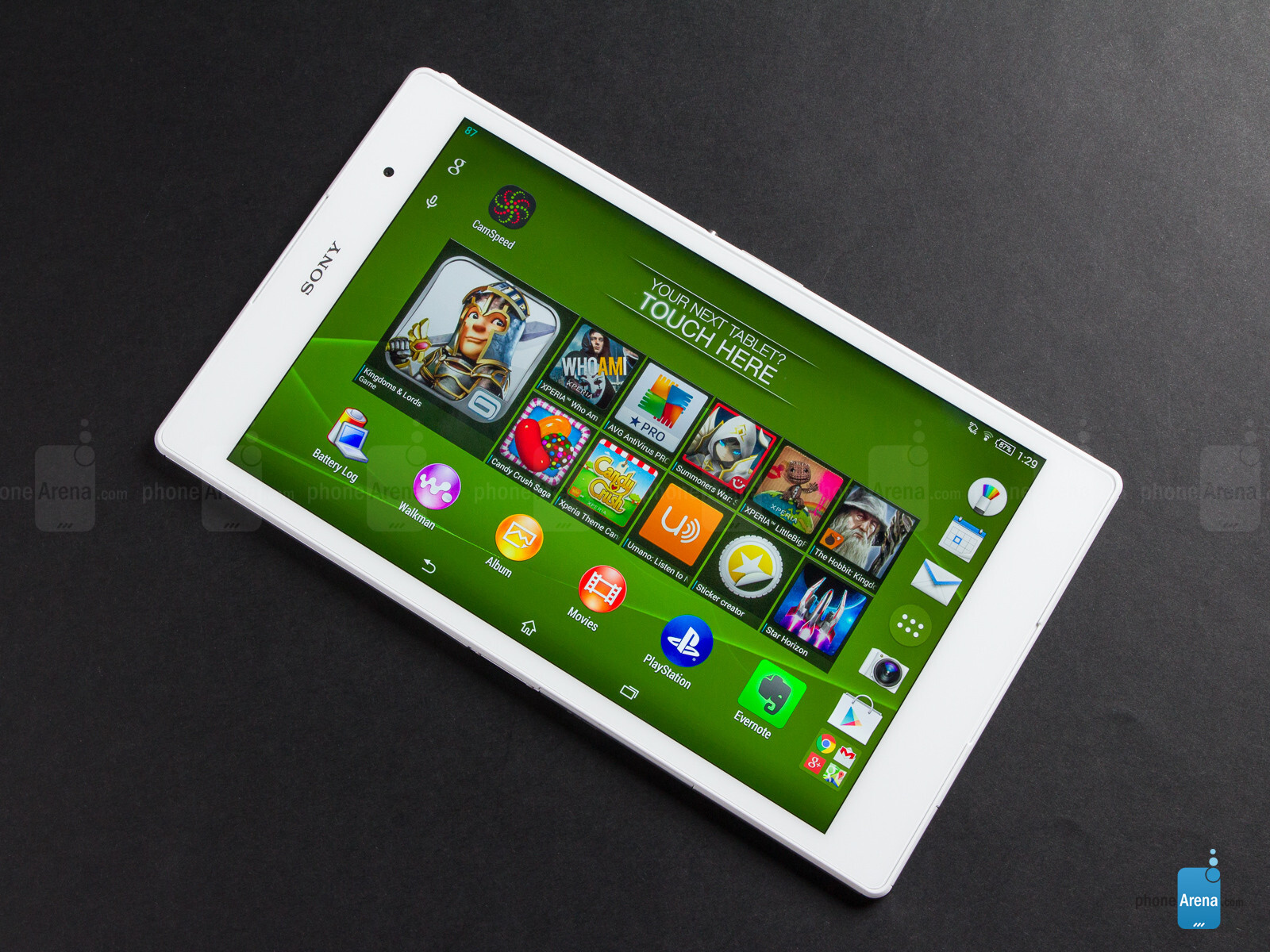 Sony Xperia Z3 Tablet Compact Review - PhoneArena